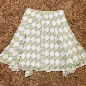 Anthropologie Girls From Savoy Skirt Size 6